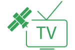 Satellite and over-the-air television