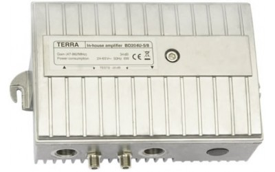 TERRA Sub-trunk amplifiers, series BD204U-5/8, BD213U-5/8