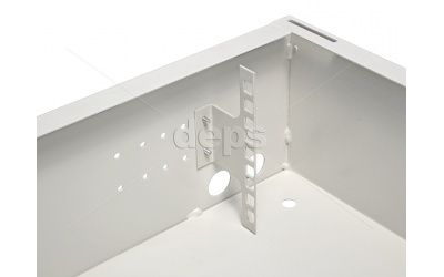 Anti-vandal wall-mounted cabinet 3U and 7U