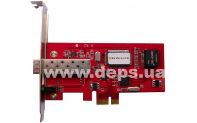 FoxGate OptoNIC SFP PCI-E Ethernet adapter