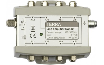 TERRA linear amplifier SA412