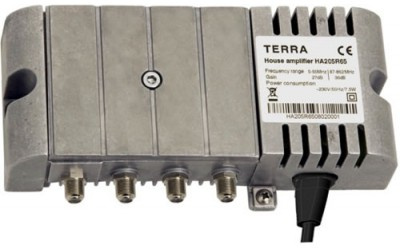 House high-power TERRA amplifiers, series  HA205, HA205R30, HA205R65, HD205, HD205R30, HD205R65