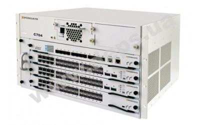 FoxGate C704 - Modular 10G IPv6 switch 3 Layer  with MPLS support