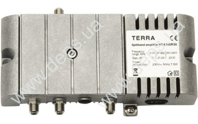 Medium power splitband amplifiers TERRA SA100, HSA100