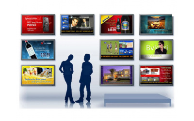 Management complex of advertising video streams
