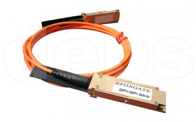 40-gigabit fiber optic cable FoxGate QSFP+/QSFP+ DAOC-XX