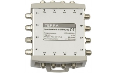 Cascadable TERRA multiswitches MS408