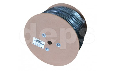 Ethernet cable DCG UTP CAT5E 4P 0,50mm CCA, outdoor self-supporting