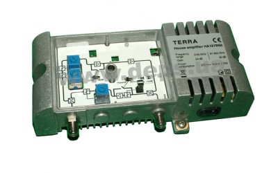 House medium-power TERRA amplifiers, series HA127, HA127R30, HA127R65