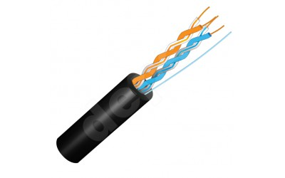 Ethernet cable FinMark UTP 2P 24AWG outdoor 550 m
