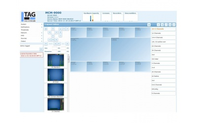 Software based IP monitoring solution with IP Multiviewer Tag MCM-9000