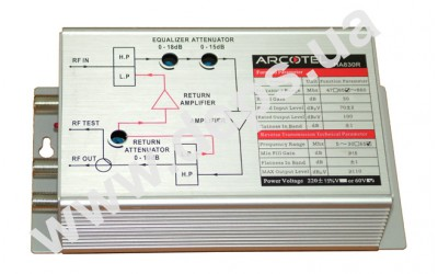 ARCOTEL Wideband house amplifiers, series НА830R