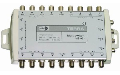 Cascadable multi-switches TERRA MS951, MS952