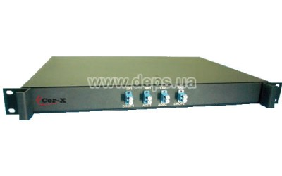 CWDM-OADM-2-x, OADM (Add/Drop)  module to work  with CWDM-Mux-Demux-х-LC