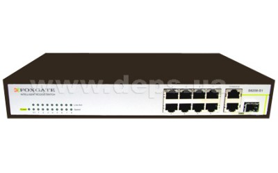 Managed L2 Switch FoxGate S6208-S1