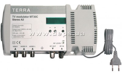 TERRA single-band TV modulators MT30A, MT30B, MT30C