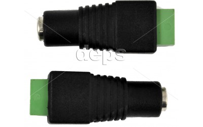 Разъем Zinc DC female connector