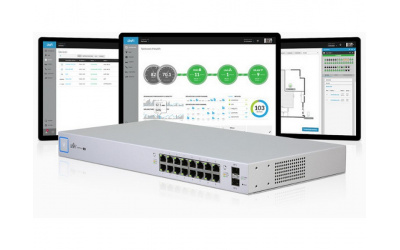 Коммутатор Ubiquiti UniFi Switch 16-150W (US-16-150W)