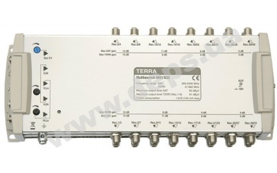 Remotely energized TERRA multiswitches MSV524, MSV532