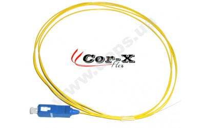 SC pigtails with reduced bending losses Cor-X Flex