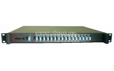 CWDM-Mux-Demux-16-LC, Multiplexer/Demultiplexer 16 channels by two fibers