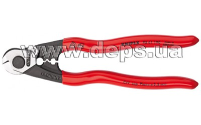 Shears for wire cables KNIPEX 95 61 190