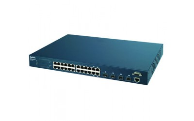 24-port L3 + Gigabit Ethernet switch with 24 RJ-45 ZyXEL GS-4024