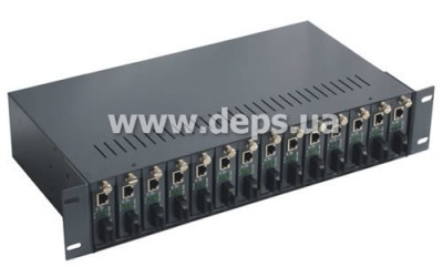 Unmanaged converter chassis FoxGate EC-F14