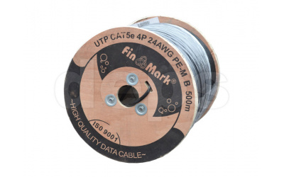 Ethernet cable FinMark UTP CAT5e self-supporting