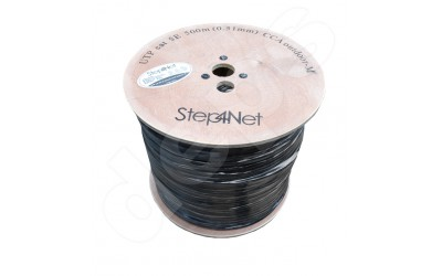 Ethernet cable Step4Net UTP CAT 5е 4P 0,51мм CCA outdoor,self-supporting