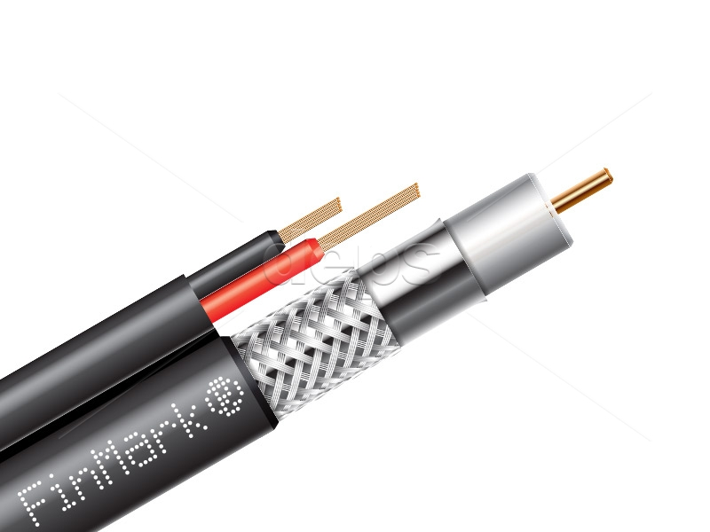 Buy Subscriber\'s coaxial cable FinMark, series 59 with additional ...