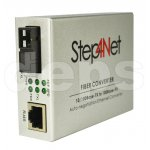 Медіаконвертори Step4Net MC-B-0,1-1SM-1310nm/1550nm-20-LFP