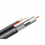 FinMark coaxial cable of Series 6 with additional current-carrying conductors