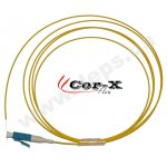 LC pigtails with reduced bending losses Cor-X Flex