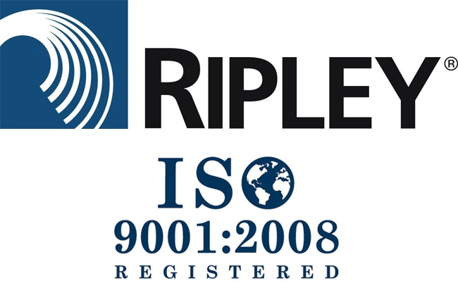 Ripley Cromwell Connecticut получила сертификат ISO 9001:2008