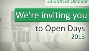 Welcome to Open Days!