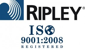 Ripley Cromwell Connecticut has received ISO 9001:2008 certification