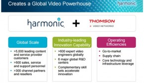 Harmonic Announces Binding Offer to Acquire Thomson Video Networks for up to $90 Million